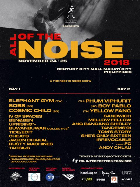 All of the Noise 2018
