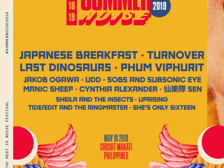Summer Noise 2019 Features International and Local Music Artists on May 18